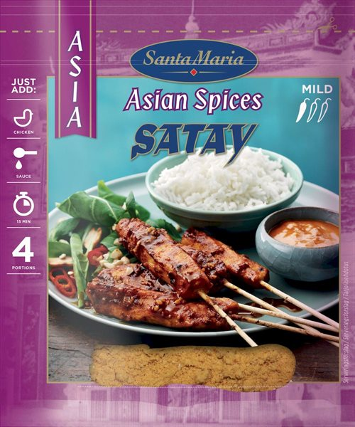 Santa Maria Asian Spices Satay 35 g
