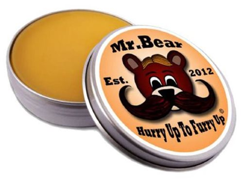 Mr.. Bear Family Moustache Wax Original 30G