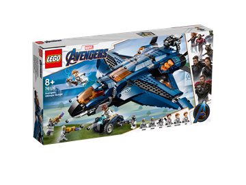 LEGO Super Heroes Avengers Ultimative Quinjet 76126