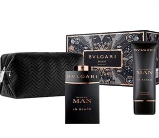 Bvlgari Man In Black Giftset 200ml EDP Spray 100ml/After Shave Balm 100ml