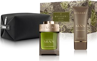 Bvlgari Man Wood Essence Giftset 200ml EDP Spray 100ml/After Shave Balm 100ml