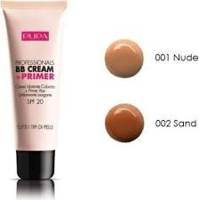 Pupa Pupa Professionals BB Cream + Primer SPF20 50ml nr.001 Nude - All Skin Types Oil Free