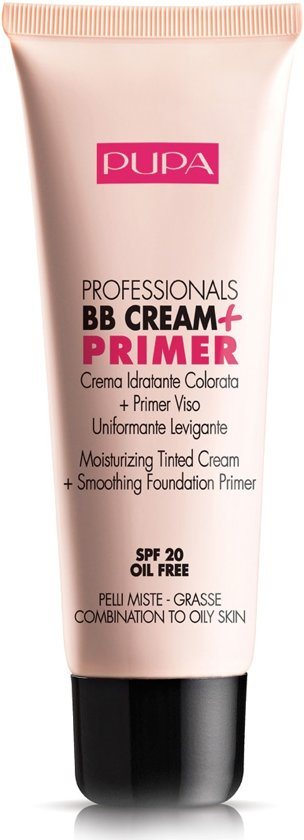 Pupa Pupa Professionals BB Cream + Primer SPF20 50ml nr.001 Nude - Combination To Oily Ski