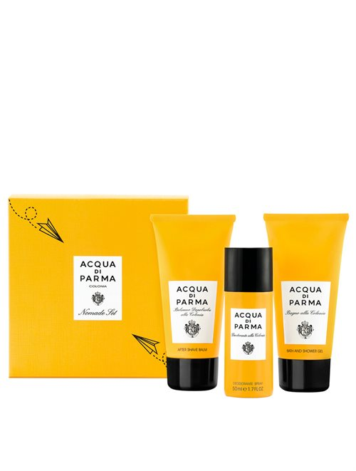 Acqua Di Parma Colonia Nomade Giftset 200ml Aftershave Balm 75ml/Shower Gel 75ml/Deo Spray 50ml
