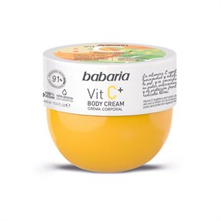 Babaria Vitamin C Body Cream 100% Vegan 400ml