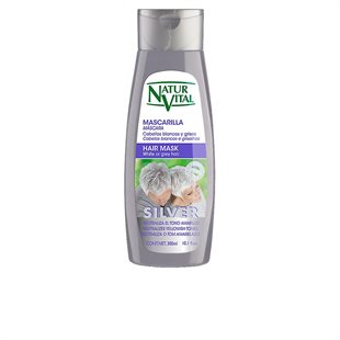 Natur Vital Mascarilla Silver White Or Gray Hair 300ml