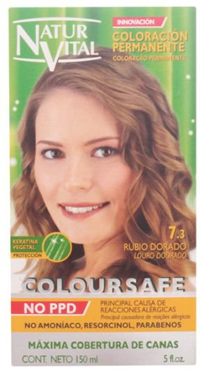 Natur Vital Coloursafe Permanent Dye nr.5-golden blonde 150ml