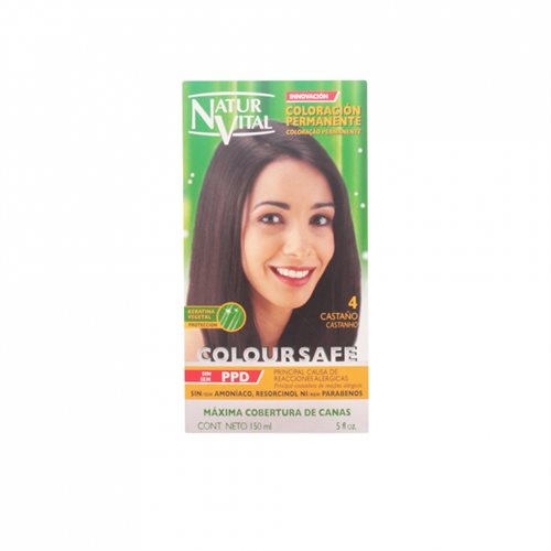 Natur Vital Coloursafe Permanent Dye nr. 1-Chestnut 150ml