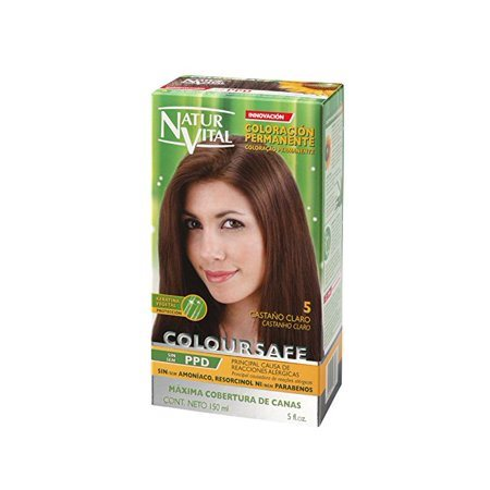 Natur Vital Coloursafe Permanent Dye nr.5-Chestnut Light 150ml