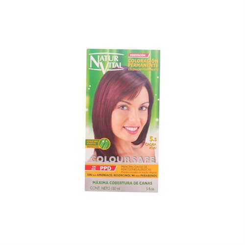 Natur Vital Coloursafe Permanent Dye nr.5.5-Mahogany 150ml
