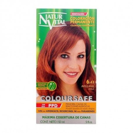 Natur Vital Coloursafe Permanent Dye nr.5-hazelnut 150ml
