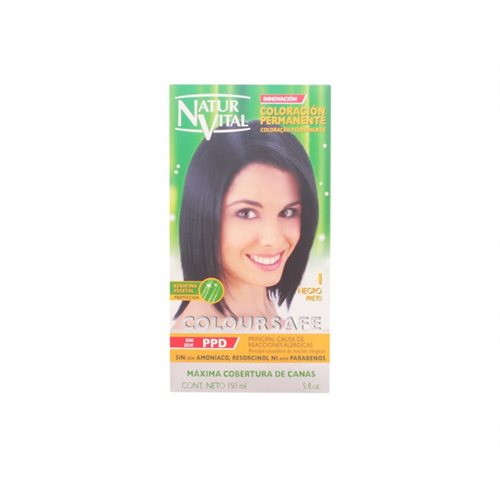 Natur Vital Coloursafe Permanent Dye nr. 1-black 150ml