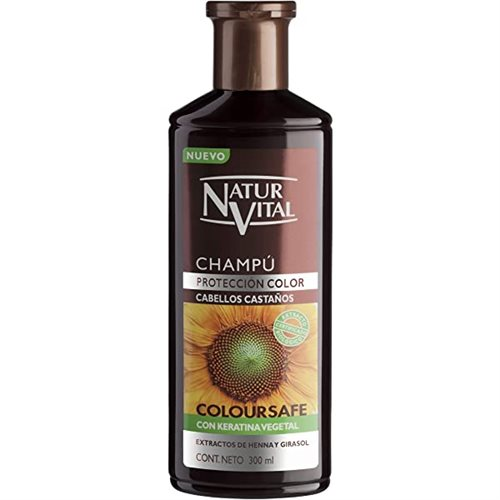 Natur Vital Shampoo Chestnut for Colored Hair 300ml