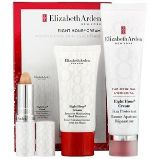 Elizabeth Arden 8 Eight Hour Cream Hand Lip Skin Gavesæt