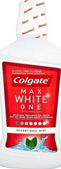 Colgate Mouthrinse Max White One - 500ml