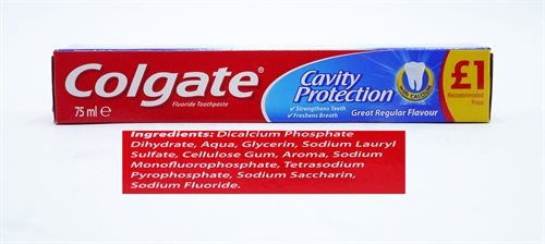 Colgate Toothpaste Cavity Protection 75ml