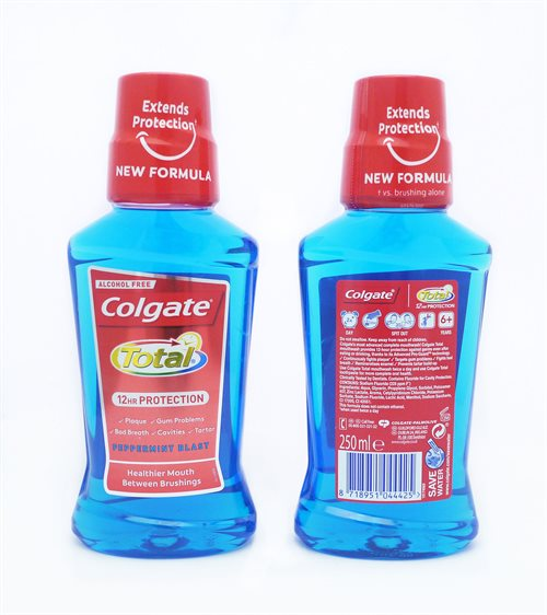 Colgate Total Mouthwash Peppermint 250ml