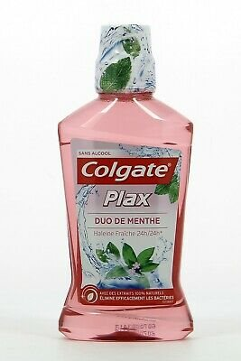 Colgate Plax Mouthwash 500 ml Mint Duo