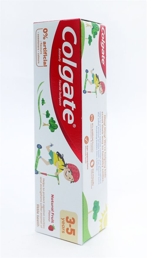 Colgate Toothpaste Kids Strawberry 3-5Yrs 30  75ml