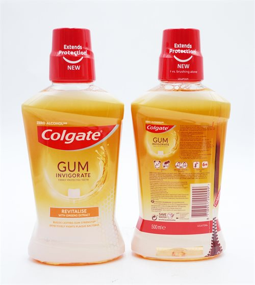 Colgate Mouthwash Gum Revitalise 500ml