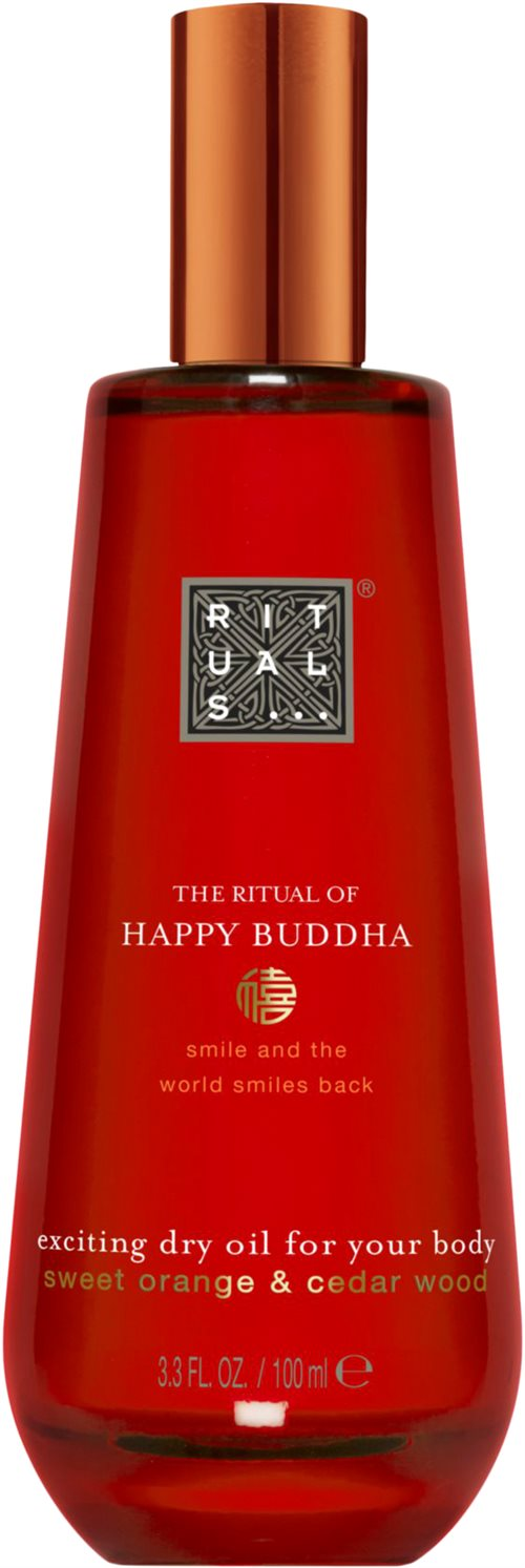 Rituals Happy Buddha Dry Oil 100ml Sweet Orange & Cedar Wood
