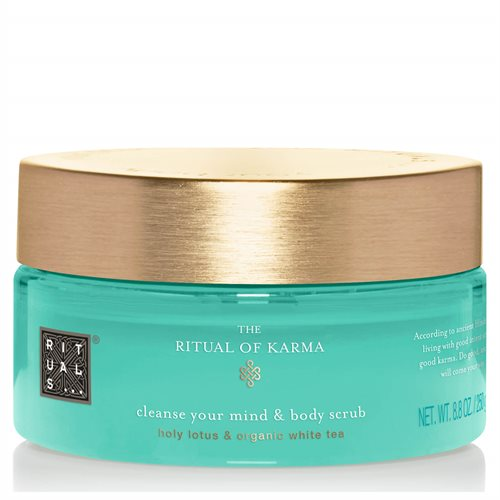 Rituals Karma Cleanse Your Mind & Body Scrub 250gr Holy Lotus & Organic White Tea