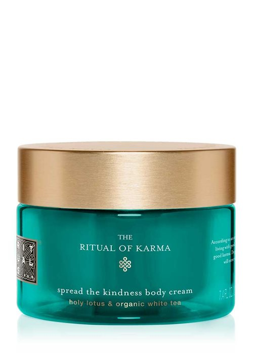 Rituals Karma Soul Shimmering Body Cream 220ml Holy Lotus & Organic White Tea / Spread The Kindness Body Cream