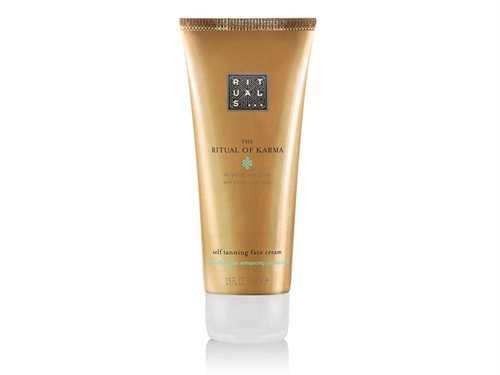 Rituals Karma Self Tanning Face Cream 75ml Organic White Tea & Ginkgo Biloba