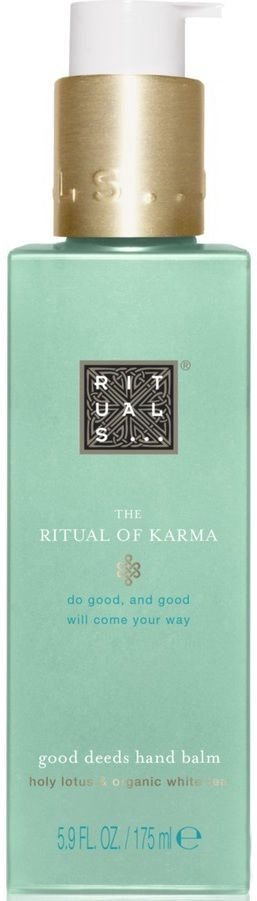 Rituals Karma Good Deeds Hand Balm 175ml Holy Lotus & Organic White Tea