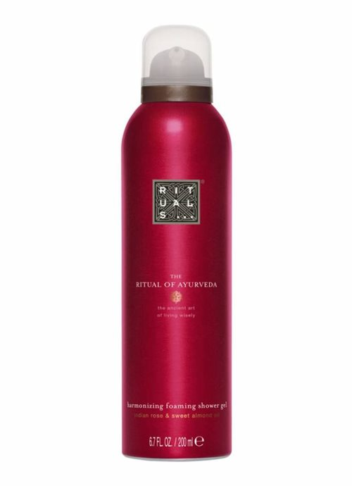 Rituals Ayurveda Foaming Shower Gel 50ml Indian Rose & Sweet Almond Oil