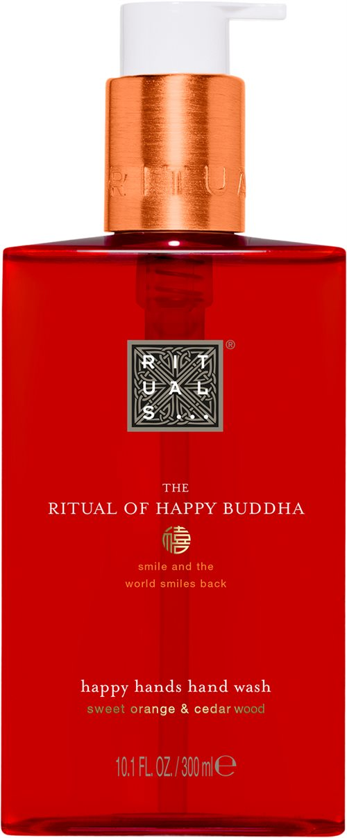 Rituals Happy Buddha Happy Hands Hand Wash 300ml Sweet Orange & Cedar Wood