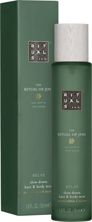 Rituals Jing Slow Down Hair & Body Mist 50ml Sacred Lotus & Jujube