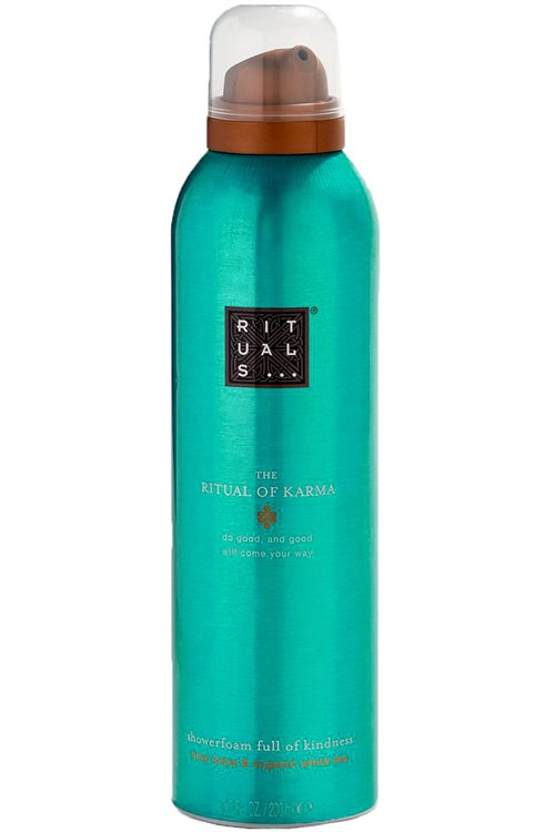 Rituals Karma Shower Foam 200ml Holy Lotus & Organic White Tea