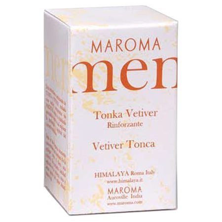 Maroma Men, Profumo Essenziale Tonka Vetiver, 10 Ml.
