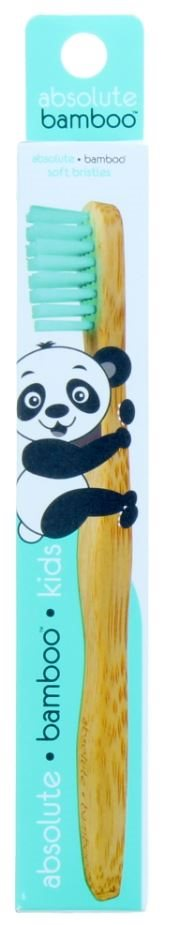 Absolute Bamboo Toothbrush Kids  Green