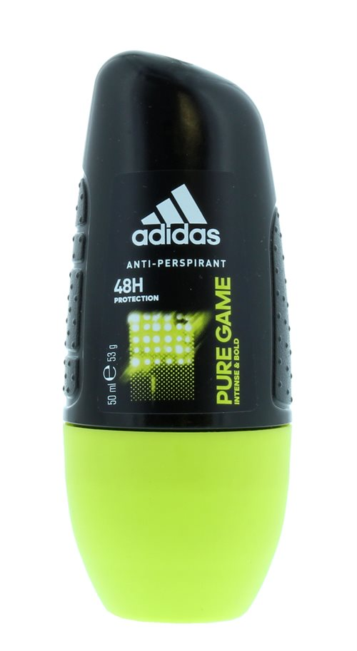 Adidas 50ml Roll On Anti Perspirant For Men Pure Game