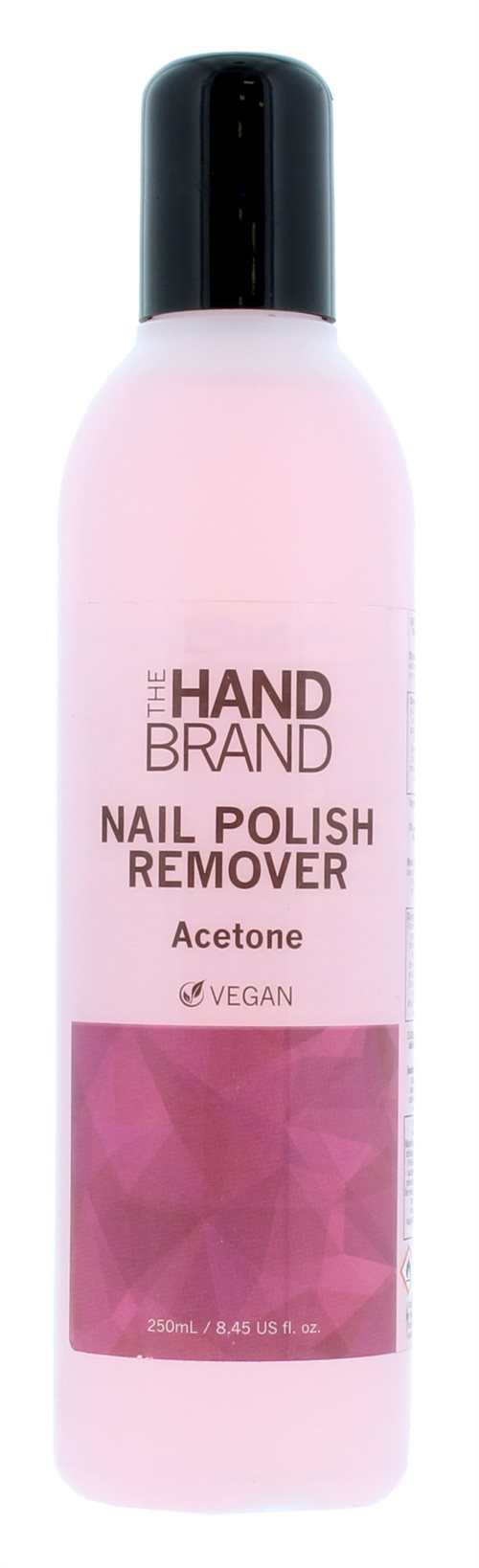 The Hand Brand 250ml Nail Polish Remover With Acetone