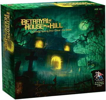 Betrayal at House on the Hill - Bræspil (Engelsk)