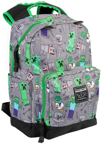 Minecraft 17 Overworld All Over Backpack