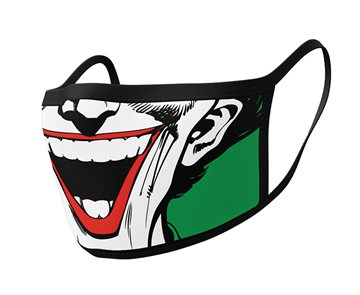 Joker face washable face mask