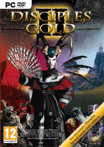 Disciples I & II + Expansions Gold Edition - PC