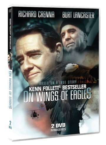 ​On wings of eagles - Kenn Follett's bestseller - DVD