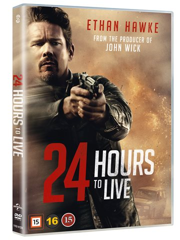 24 hours to live - DVD