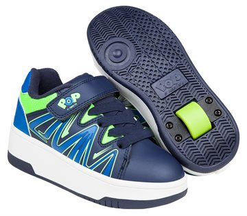 Heelys - Burst - Navy/Royal/Lime - Str. 32 (POP-B1W-0009=