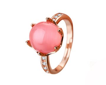 Everneed Liva - ring pink perle
