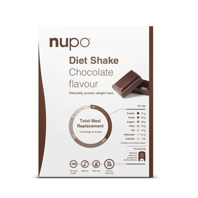 Nupo Diet Shake - Chocolate Flavour 384 g