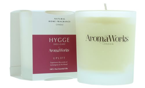 Aromaworks 220G Hygge Uplift Candle