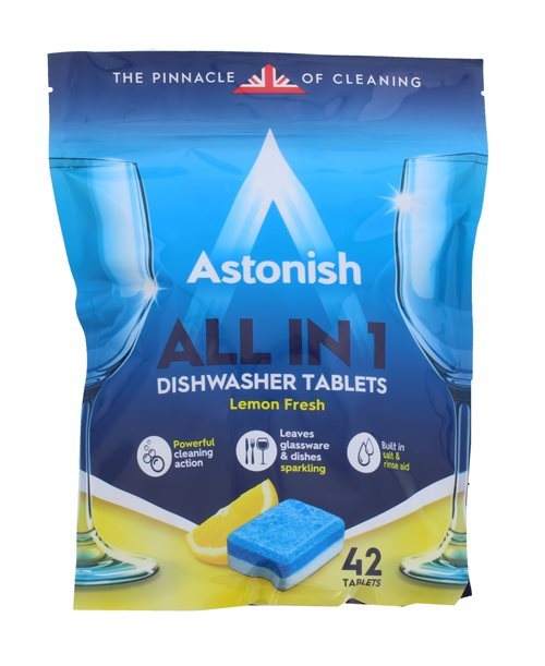 Astonish Dishwasher Tabs 42'S Lemon