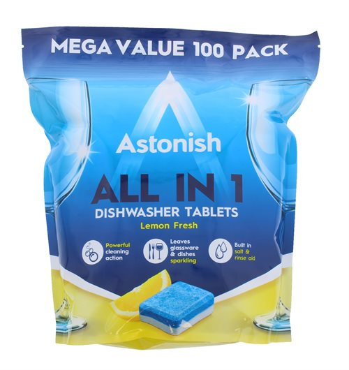 Astonish 100S Tabs Dishwasher