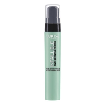 L' Oreal Paris Make-Up Designer Infaillible The Primers - 02 Anti-Redness - Primer Foundation Til Ansigtsmakeup